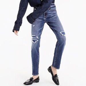 J. Crew Vintage Straight Jean In Coastline Wash